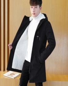 男士加绒外套加厚棉衣男棉服棉袄2017新款冬季上衣韩版潮流衣服夹克