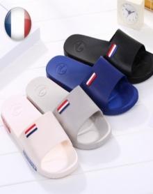 韩版潮流一字拖鞋男士凉拖鞋夏季时尚沙滩鞋浴室防滑洗澡拖鞋男夏