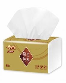 香约金装3层原木抽纸300张包抽取式面巾纸纸巾孕婴可用软抽纸抽餐巾纸卫生纸生活用纸家庭装整箱