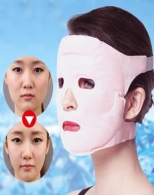 【v脸紧致去眼角纹一片可以使用半年】托玛琳面罩瘦脸明星同款面膜提亮肤色美白润肤补水保湿去皱紧致肌肤美容V脸防辐射面罩