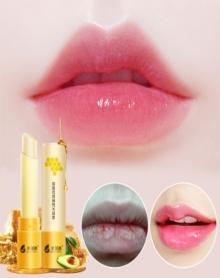 感温变色天然可以吃的润唇膏淡纹防裂防掉皮保湿滋润补水唇膜唇部护理蜂胶润唇膏3g