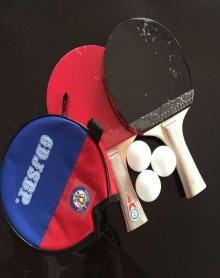 儿童娱乐乒乓球拍套装中小学初学两只装单只装乒乓球拍