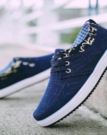 春季透气帆布鞋男韩版板鞋老北京布鞋潮流运动休闲潮鞋工作男鞋子
