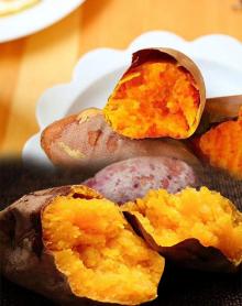 红薯(红皮黄瓤) 净重五斤/箱 包邮