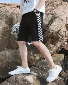 2018夏天五分裤男生运动短裤大码宽松中裤休闲男士沙滩裤中裤学生百搭懒人短裤