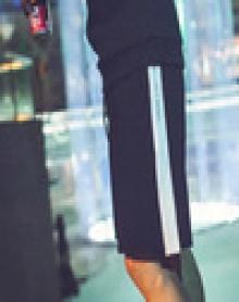 2018夏季日系短裤男运动五分裤大裤衩侧边白条休闲裤宽松裤子沙滩裤潮