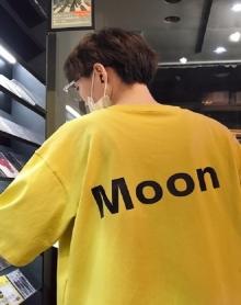 港风2018夏季新款创意字母印花男士圆领短袖T恤韩版宽松打底衫
